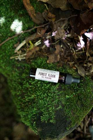 Forest Floor Perfume Oil | Essential Oil Blend that smells like the Forest | Natural Perfume Oil | Vetiver, Fir Needle, Thyme and Cypress