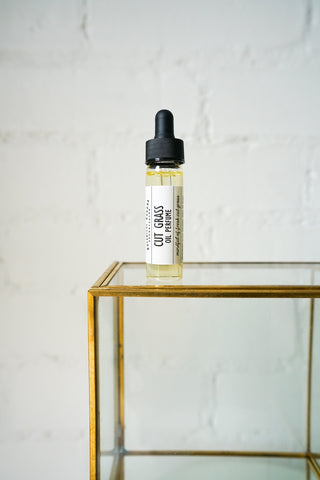 Cut Grass Botanical Oil Perfume | Essential Oil Natural Perfume Oil That Smells Freshly Cut Grass - Luxury Women's Perfume