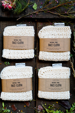 Crocheted Face Cloth | 100% Cotton Yarn | South Africa