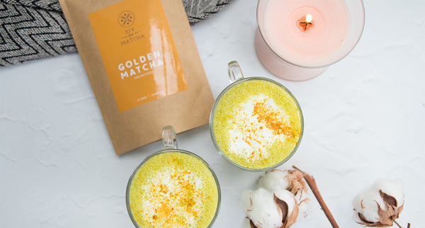 Kurkuma latte, golden milk recept