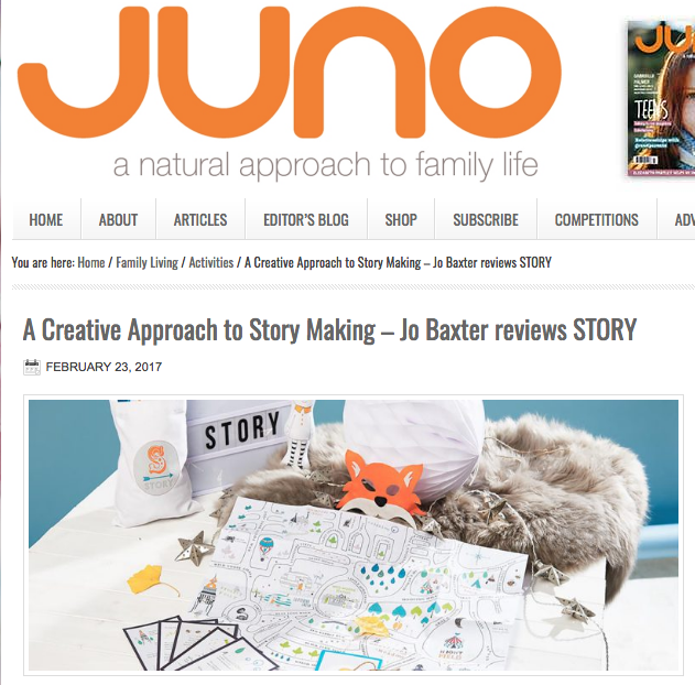 Juno magazine walk-in-Book review