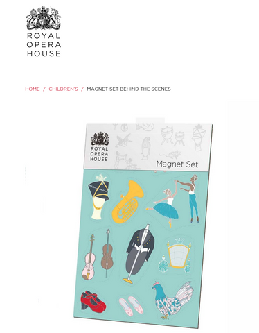 Royal Opera House magnet set