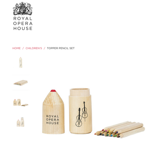 Royal Opera House pencil set