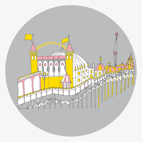 Brighton Pier illustration