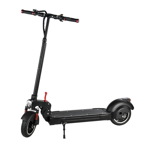 10 inch electric kick scooter in black color