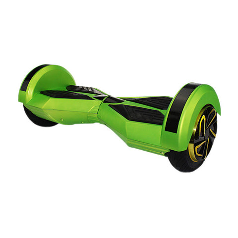 8 inch hoverboard in green color