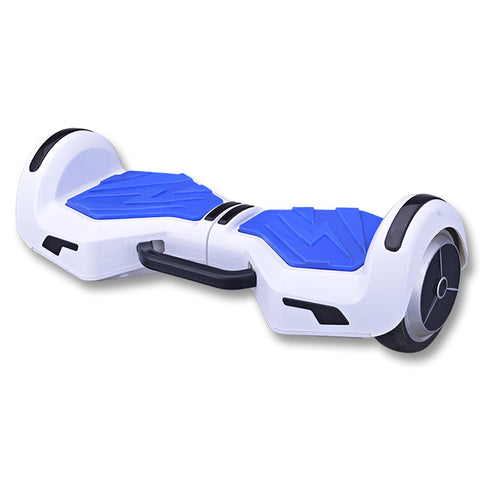 portable 6.5 inch hoverboard two wheels with carry handle in white color