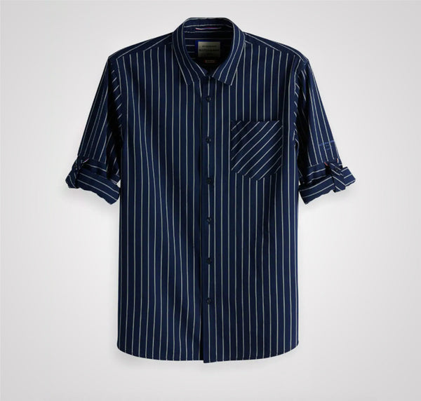 Scotch & Soda Rolled-Up Sleeve Shirt - Combo B