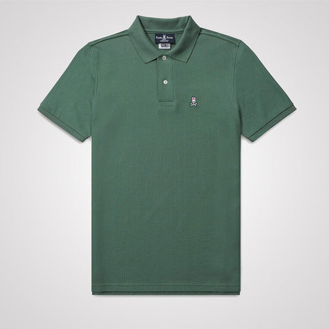 Psycho Bunny Classic Polo Shirt - Botanical Green