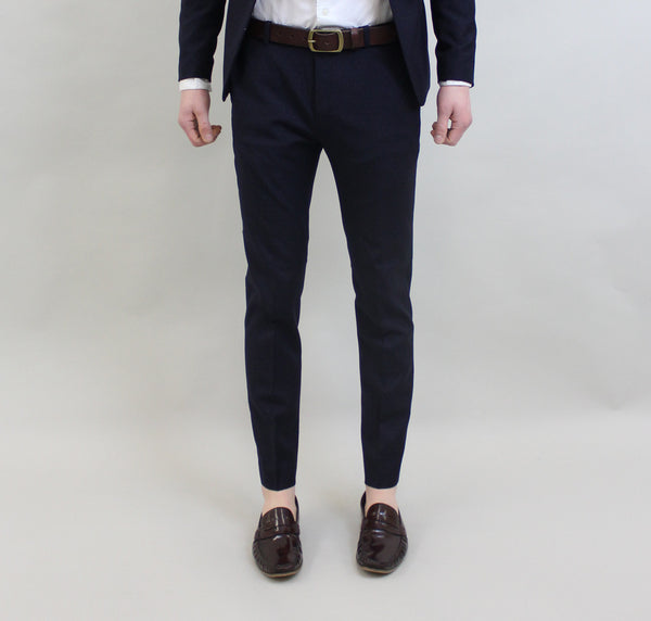 Scotch And Soda Classic Wool Suit Trousers - Combo A