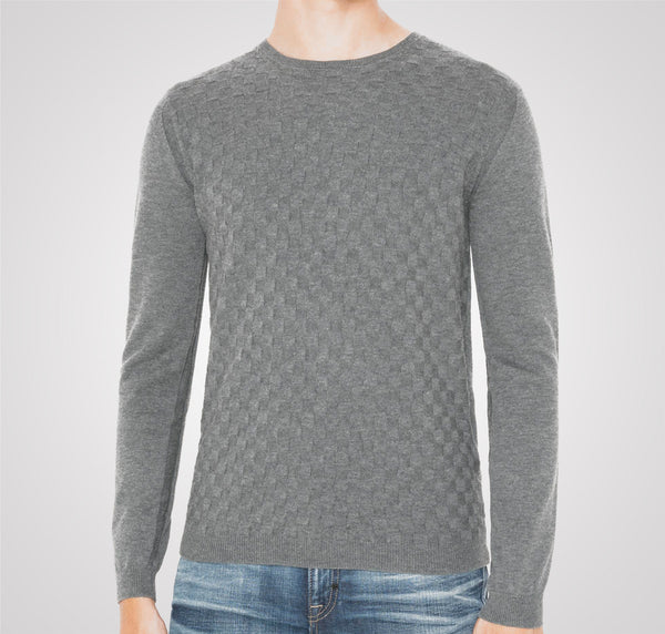 Antony Morato Jacquard Sweater - Grey