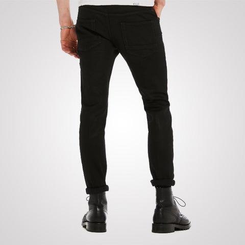 Scotch & Soda Tye Plus Slim Carrot Fit - Tuxedo Black