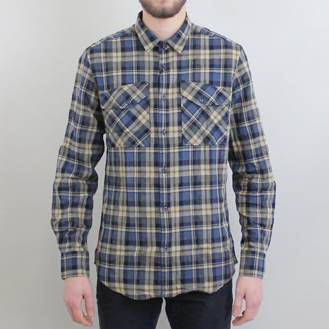 Antony Morato Checked Shirt - Blue