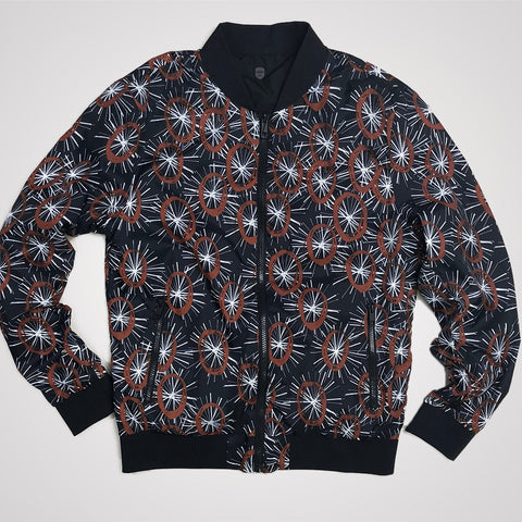 Antony Morato Double Face Bomber Coat - Loud Blue