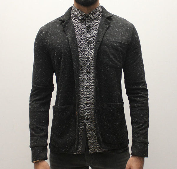 Pearly King Rogue Jacket - Charcoal