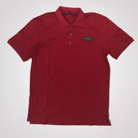 Antony Morato Patch Detail Polo Shirt - Red