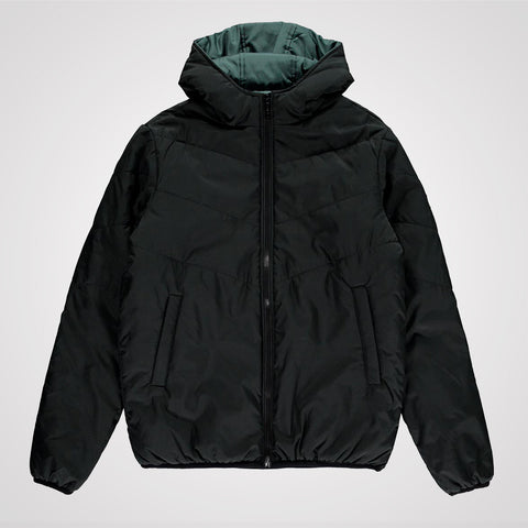 King Apparel Blackwall Reversible Jacket - Black / Stone