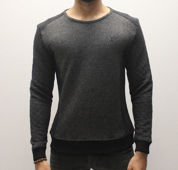 Pearly King Roster Sweat - Charcoal