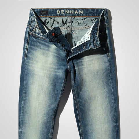 Denham Razor MH Jeans - Slim Fit - Blue
