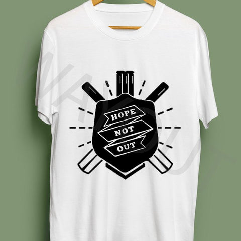 Hope Not Out by SAF Shield T-Shirt - White