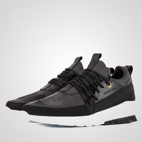 Android Homme Midnight Runyon - Black Camo Nubuck Leather