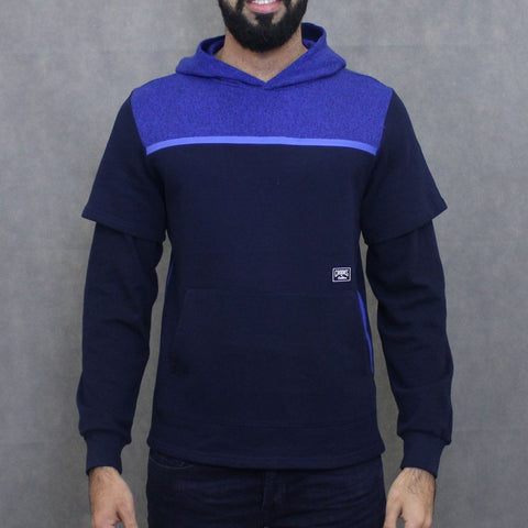 Crooks & Castles Hooded Pullover - Navy