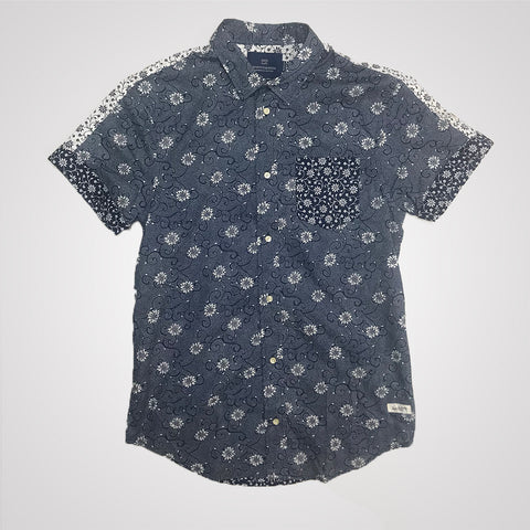 Scotch & Soda Combined Print Shirt  Regular fit - Combo A
