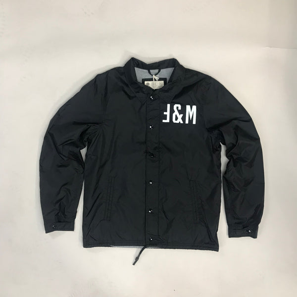 Franklin And Marshall Nylon Jacket - Black Shadow