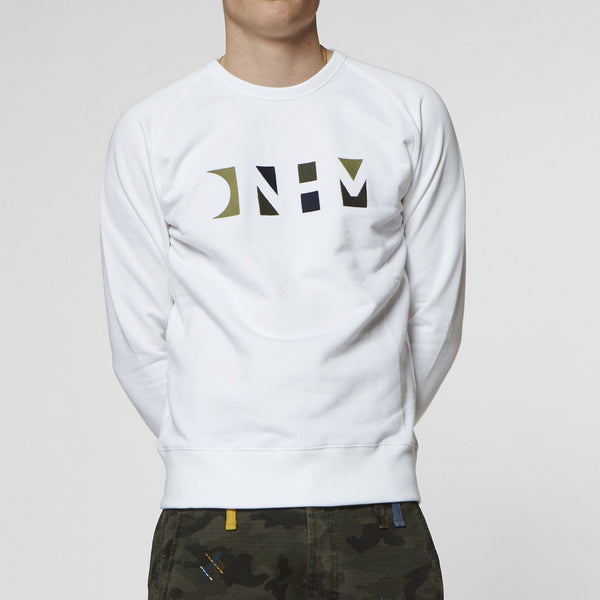 Denham Scout Sweatshirt - Bright White