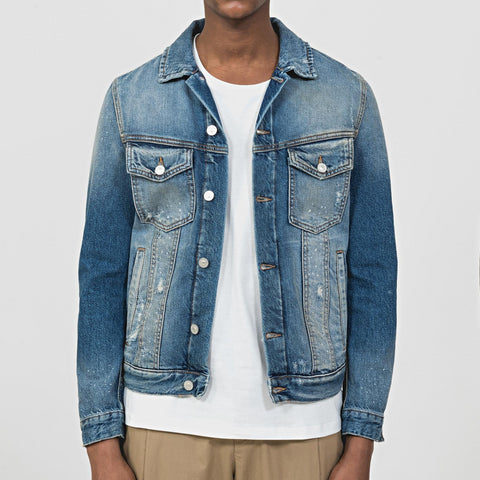 Antony Morato Slim Fit Hendrix Denim Jacket - Blue