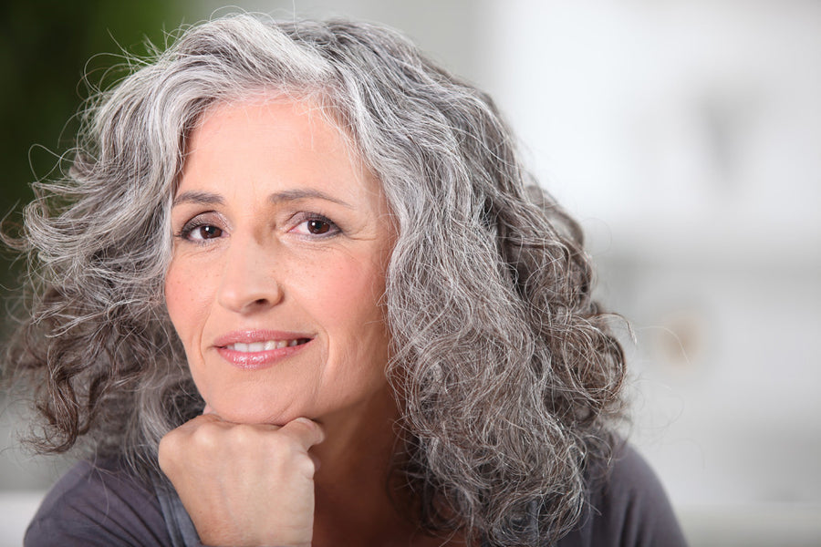 Grey Hair and Hair Loss is a Fact of Life as We Age