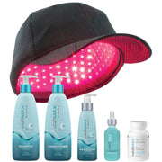 HAIRMAX LASER 272 POWERFLEX CAP & FREE Density Hair Care System (4-Piece) & Dietary Supplements