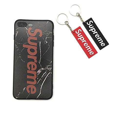 Supreme Iphone 7 Plus and Iphone X Case With 2 Keychains Yeezy