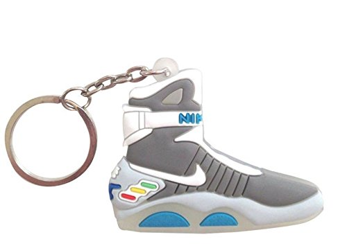 Wethefounders Air Mag X SUPREME (2 PACK) Back To Future Basketball Shoe Keychain Collectables