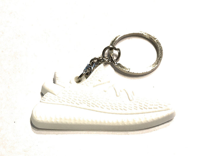 WeTheFounders All White Yeezy Boost Shoe Collectable Keychain