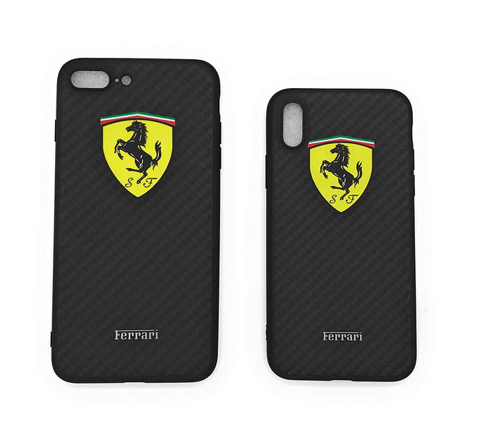TechGearClothing Exclusive Ferrar Car Auto Design Cell Phone Cases For Iphone X and Iphone 7/8 Plus