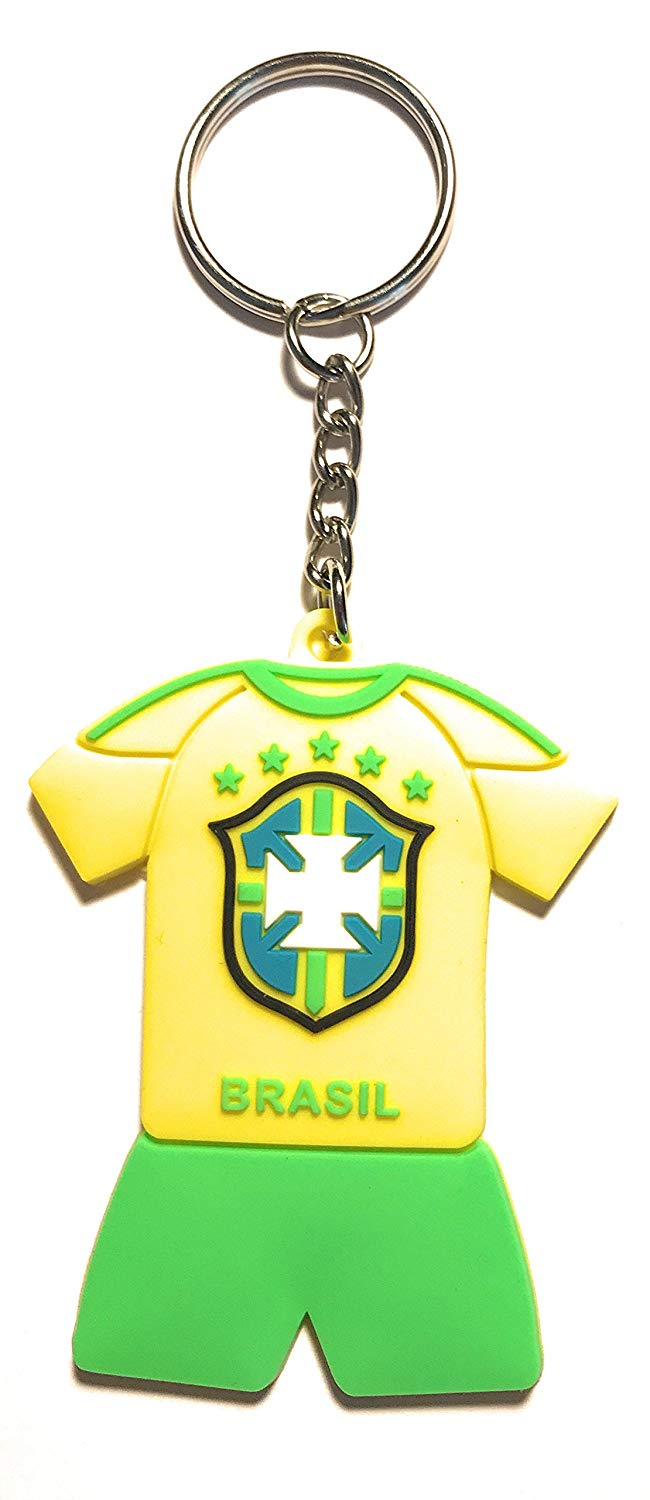 WETHEFOUNDERS Exclusive World Cup Russia 2018 Keychains Jersey Soccer Futbol