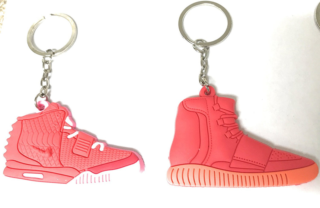 Sneaker Keychains Yeezy Shoes