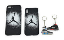 TechGearClothing Exclusive Hypebeast AJ Jumpman Sport Design Cell Phone Cases For Iphone X and Iphone 7/8 Plus With 2 Keychains