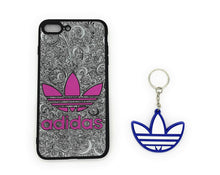 TechGearClothing Exclusive Hypebeast Brand With 3 Stripes Sport Design Cell Phone Cases For Iphone X and Iphone 7/8 Plus With 1 Keychain