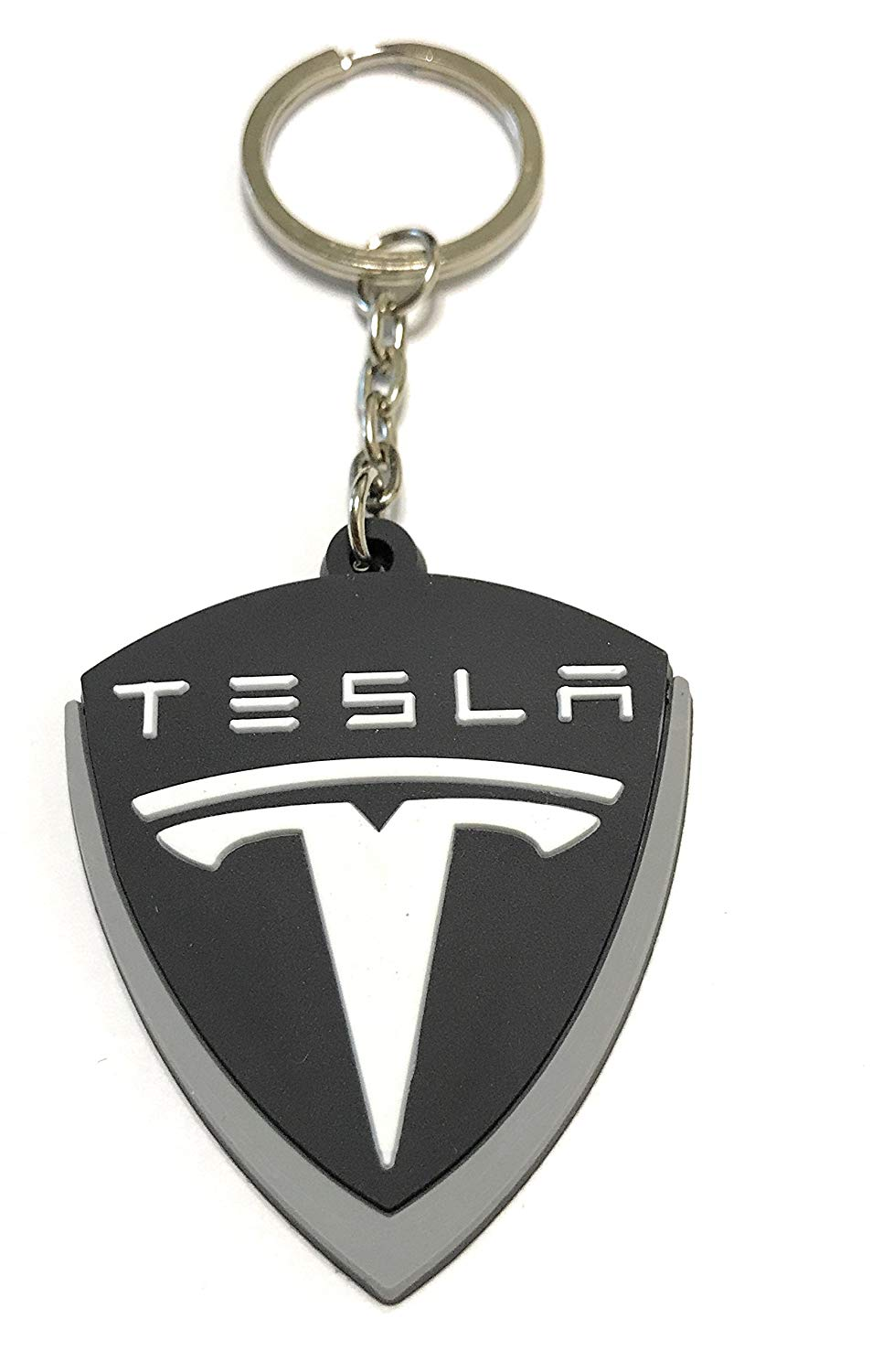 WetheFounders Automotive Car Keychains M POWER,TESLA,HONDA, Rubber Collectable