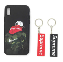 TechGearClothing Exclusive Hypebeast Sup Metro Card Design Cell Phone Cases For Iphone X and Iphone 7/8 Plus With 2 Keychains