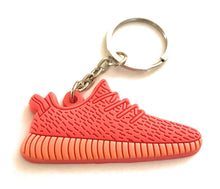 Red Low Top Yeezy Boost Red Shoe Keychain Collectable 2-D