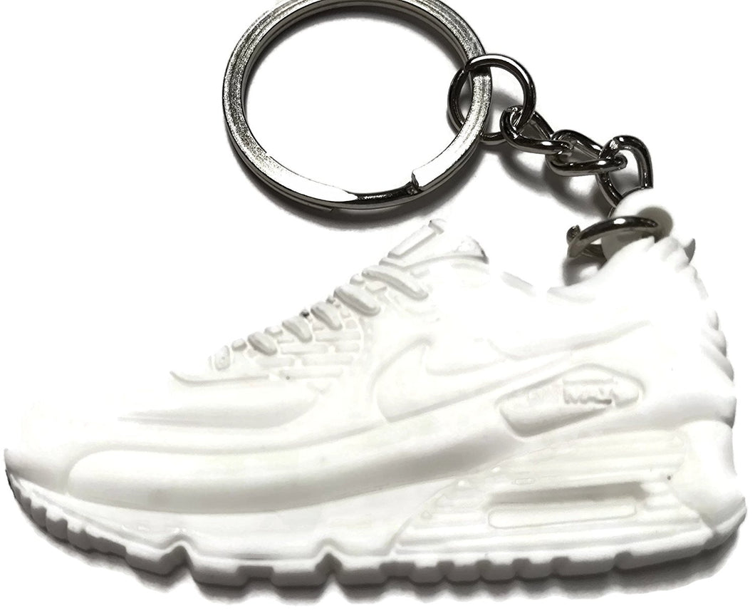 Nike Air Max White Shoe Keychain Collectable