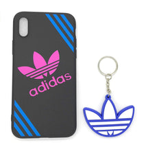 TechGearClothing Exclusive Hypebeast Brand With 3 Stripes Glow In The Dark Sport Design Cell Phone Cases For Iphone X and Iphone 7/8 Plus With 1 Keychain
