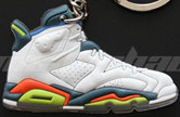 Air Jordan Retro 6 Shoe Keychain