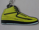 Air Jordan Retro 2 Shoe Keychain