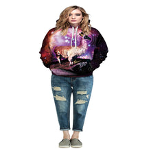 "EDM EDC "" The Chosen Llama"" Graphic Hoodie Tech Gear Collection"
