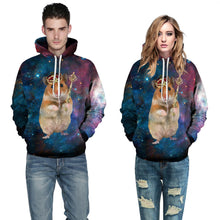 "EDM EDC "" The Galactic Guinea Pig "" Graphic Hoodie Tech Gear Collection"