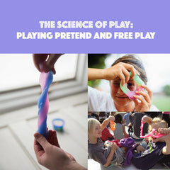 The Science of Play: Playing Pretend/Free play with Solar Dough